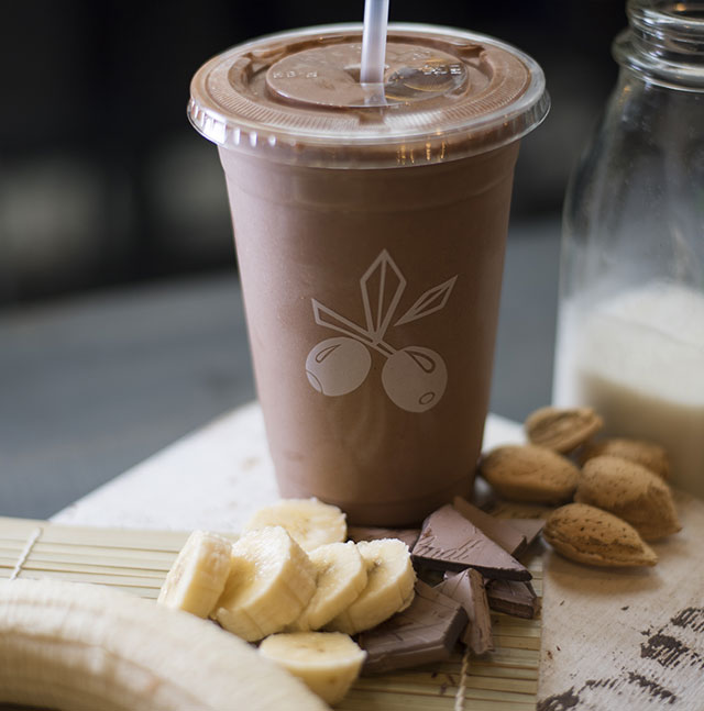 Nutty Coco Banana Bread Smoothie