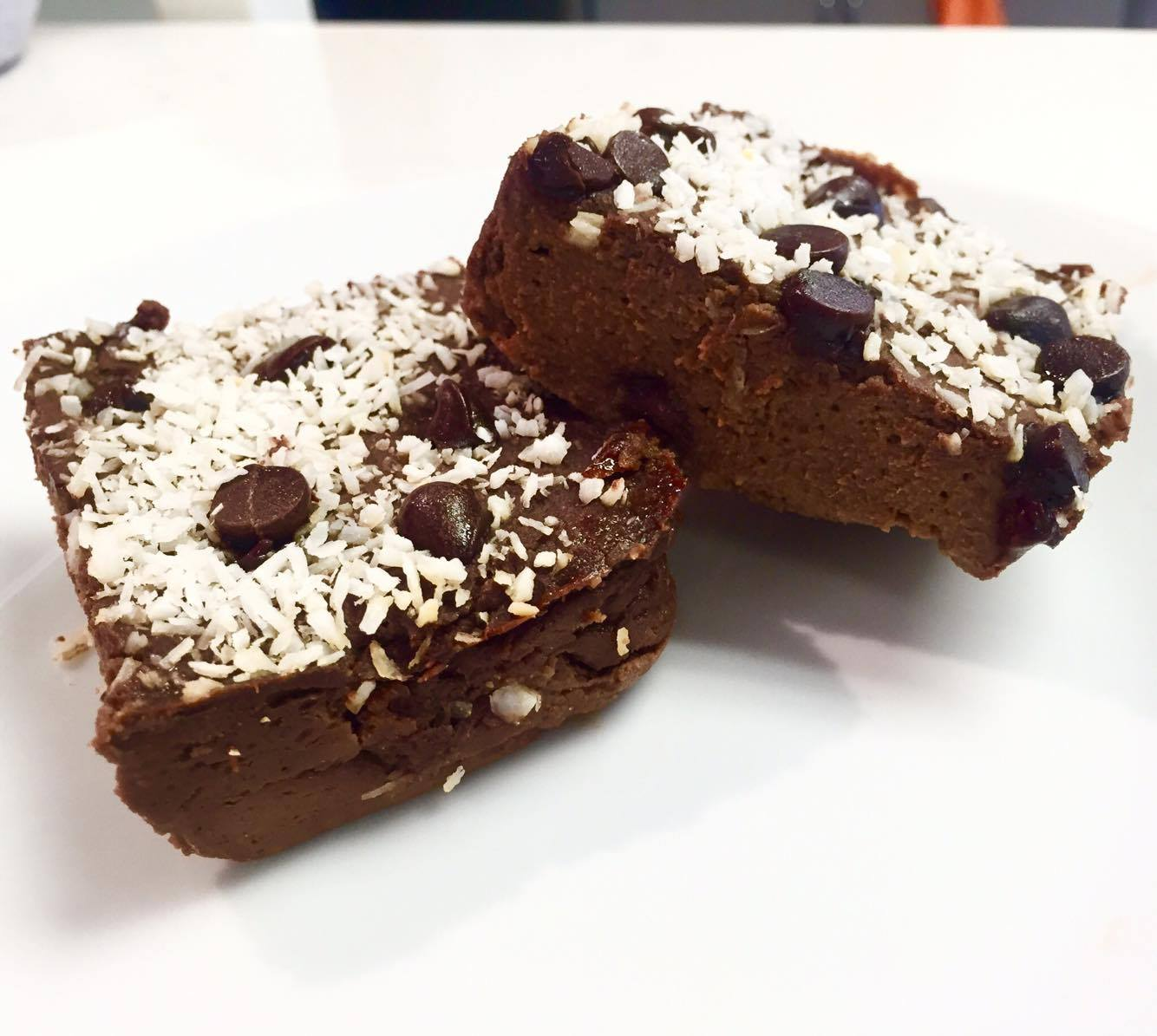 Coconut Fudge Brownies